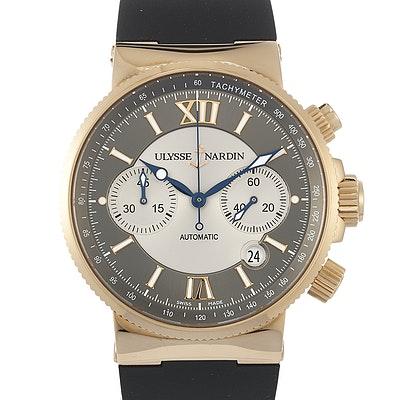 Ulysse Nardin Marine Chronograph - 356-66