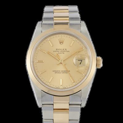Rolex Date 34 - 15203