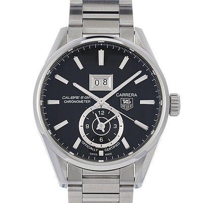 Tag Heuer Carrera Calibre 8 GMT Automatic - WAR5012.BA0723