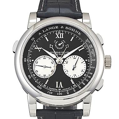 A. Lange & Söhne Saxonia Double Split Platinum - 404.035