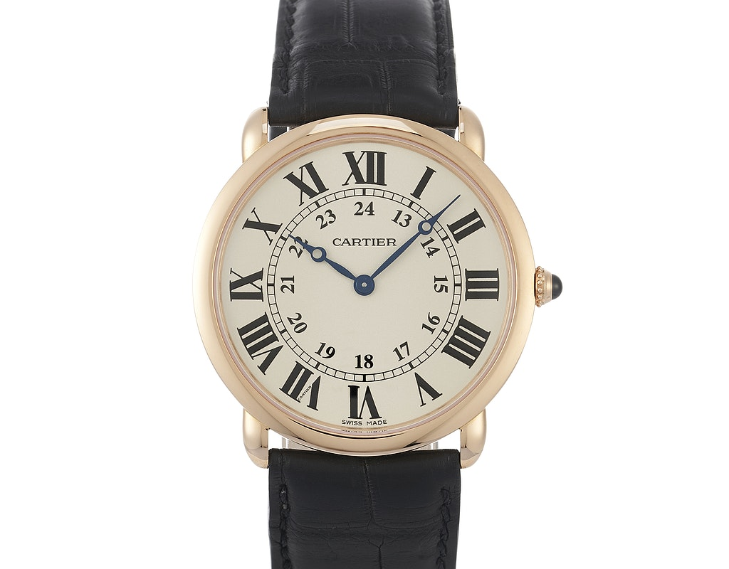 Ronde Louis Cartier watch