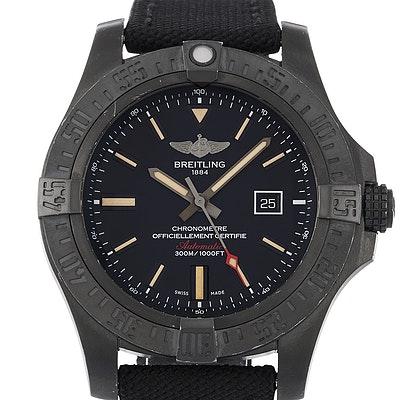 Breitling Chronomat Avenger Blackbird  - V1731010.BD12.105W.M20BASA.1