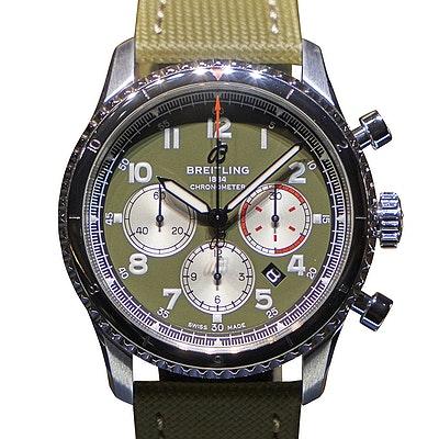 Breitling Navitimer Aviator 8 B01 Chronograph 43 Curtiss Warhawk - AB01192A1L1X1