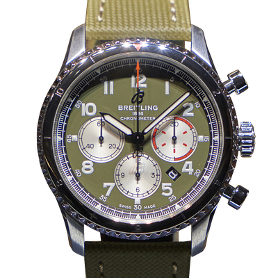 Breitling Navitimer Aviator 8 B01 Chronograph 43 Curtiss Warhawk - AB01192A1L1X2