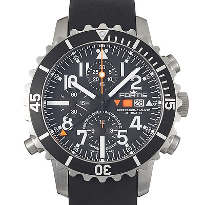 Fortis B-42 Marinemaster Chronograph Alarm Ltd. - 673.10.41.K