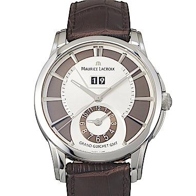 Maurice Lacroix Pontos Grand Guichet GMT Ltd. - PT6228-SS001-130