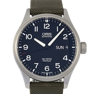 Oris Big Crown ProPilot Day Date - 01 752 7698 4164-07 5 22 14FC