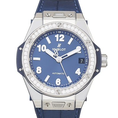Hublot Big Bang One Click Steel Blue Diamonds - 465.SX.7170.LR.1204