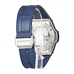 Hublot Big Bang One Click Steel Blue Diamonds - 465.SX.7170.LR.1204
