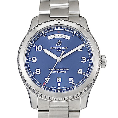 Breitling Aviator 8 Automatic Day & Date 41 - A45330101C1A1
