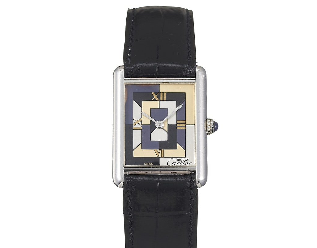Cartier Must Tank Art Deco LTD Edition W1008095