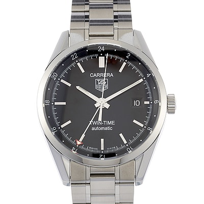 Tag Heuer Carrera Calibre 7 Twin-Time - WV2115.BA0787