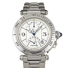 Cartier Pasha Chronograph - W31037H3
