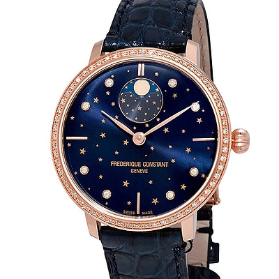 Frederique Constant Slimline Moonphase Stars Manufacture - FC-701NSD3SD4