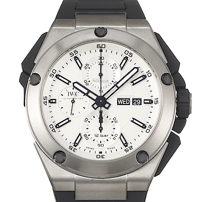 IWC Ingenieur Double Chronograph Steel - IW386501