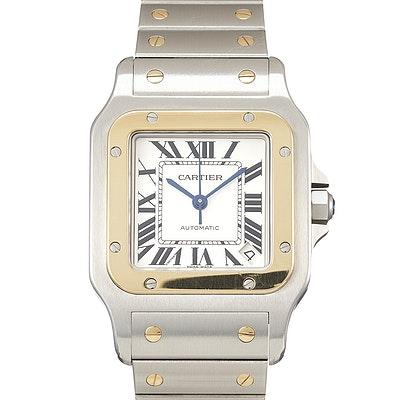 Cartier Santos Galbée - W20099C4