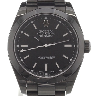 Rolex Milgauss DLC - 116400_DLC