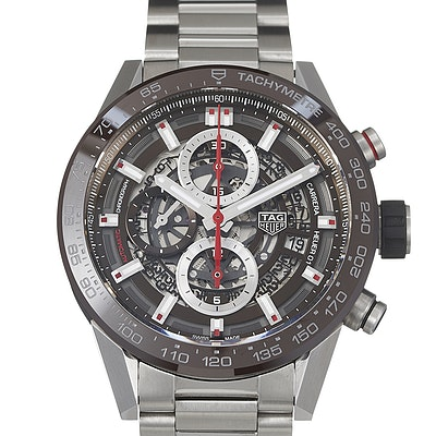 Tag Heuer Carrera Calibre Heuer 01 Automatic Chronograph - CAR201U.BA0766