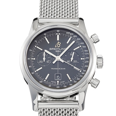 Breitling Transocean Chronograph 38 Milanese - A4131012.BC06.171A