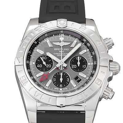Breitling Chronomat 47 GMT Blackeye Grey - AB042011/F561