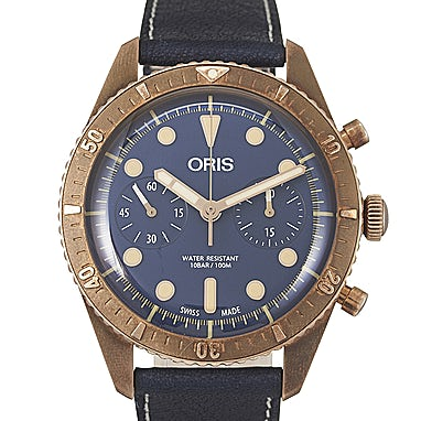 Oris Divers Carl Brashear Chronograph Ltd. - 01 771 7744 3185-Set LS