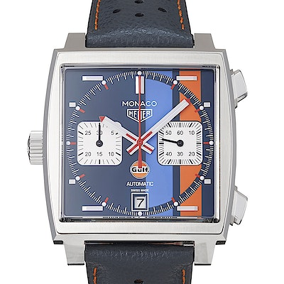 Tag Heuer Monaco Calibre 11 Automatic Chronograph Gulf Special Edition - CAW211R.FC6401