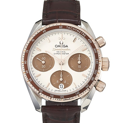 Omega Speedmaster 38 Co-Axial Chronograph  - 324.23.38.50.02.002