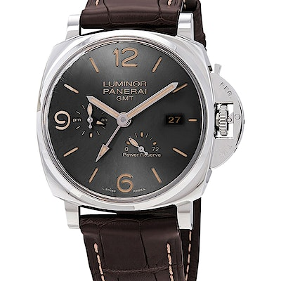 Panerai Luminor Due 3 Days GMT Power Reserve Automatic Acciaio - 45mm - PAM00944
