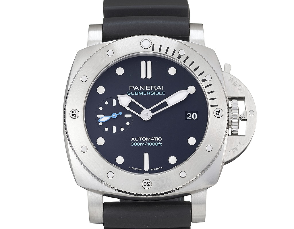 Panerai PAM00973 Luminor Submersible 42 3 Days Automatic Stainless Steel / Black