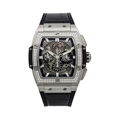 Hublot Spirit of Big Bang Titanium Pavé - 641.NX.0173.LR.1704