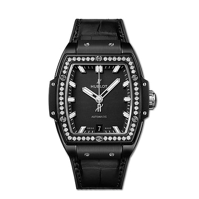 Hublot Spirit of Big Bang Black Magic Diamonds - 665.CX.1170.LR.1204