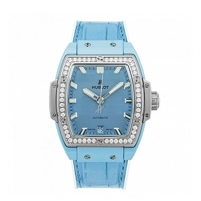 Hublot Spirit of Big Bang Light Blue Ceramic Titanium Diamonds - 665.EN.891L.LR.1204