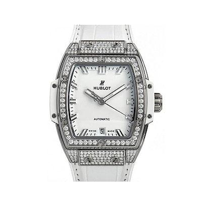 Hublot Spirit of Big Bang Titanium White Pavé - 665.NE.2010.LR.1604