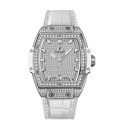 Hublot Spirit of Big Bang Titanium White Full Pavé - 665.NE.9010.LR.1604