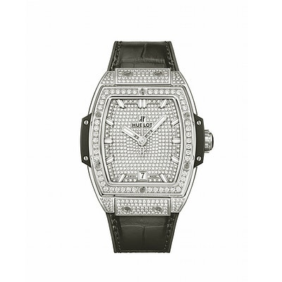 Hublot Spirit of Big Bang Titanium Full Pavé - 665.NX.9010.LR.1604