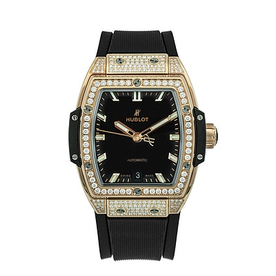 Hublot Spirit of Big Bang King Gold Pavé - 665.OX.1180.LR.1604