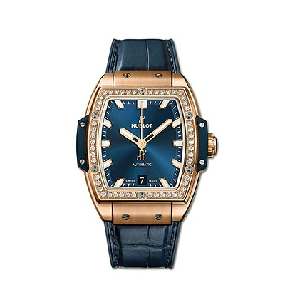 Hublot Spirit of Big Bang King Gold Blue Diamonds - 665.OX.7180.LR.1204