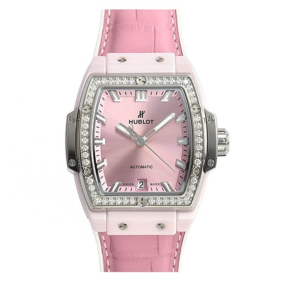 Hublot Spirit of Big Bang Pink Ceramic Titanium Diamonds - 665.RN.891P.LR.1204