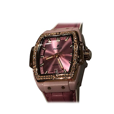 Hublot Spirit of Big Bang Pink Ceramic King Gold Diamonds - 665.RO.891P.LR.1204