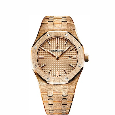 Audemars Piguet Royal Oak Frosted Gold Quartz - 67653OR.GG.1263OR.02