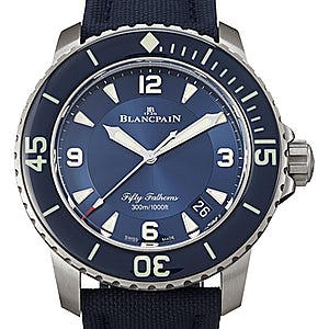 Blancpain Fifty Fathoms 5015-12B40-O52A