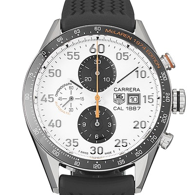 Tag Heuer Carrera Calibre 1887 Chronograph McLaren 1974 Ltd. - CAR2A12.FT6033