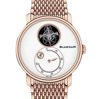 Blancpain Villeret Tourbillon Heure Sautante Minutes Rétrograde - 66260-3633-MMB