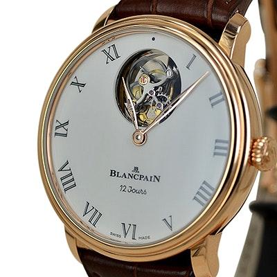 Blancpain Villeret Tourbillon Volant Une Minute 12 Jours - 66240-3631-55B