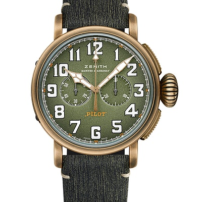 Zenith Pilot Type 20 Chronograph Adventure - 29.2430.4069.63.I001