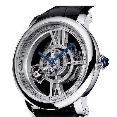 Cartier Rotonde Astrotourbillon skelettiert - W1556250