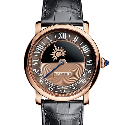 Cartier Rotonde Geheimnisvolles Uhrwerk - WHRO0042