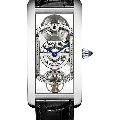 Cartier Tank Cintrée - WHTA0009