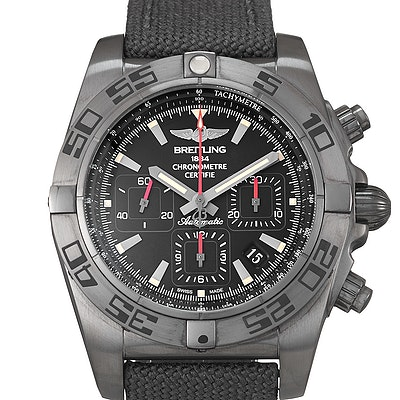 Breitling Chronomat 44 Blacksteel - MB0111C3.BE35