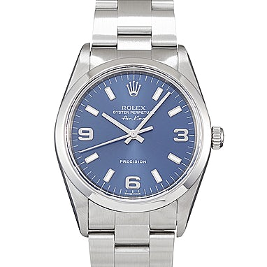 Rolex Air-King Blue Face - 114200